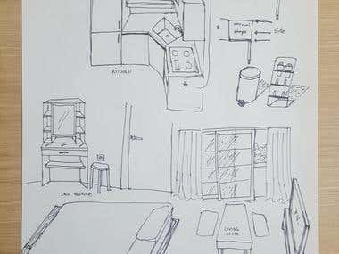My Home Sketch