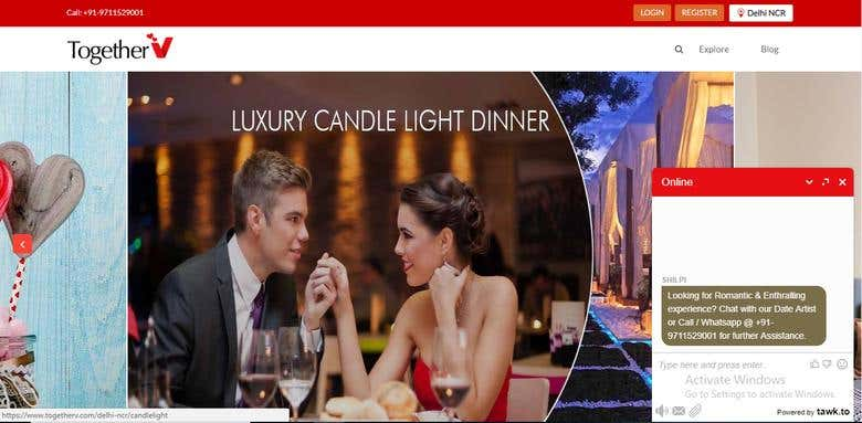 dinner dating website