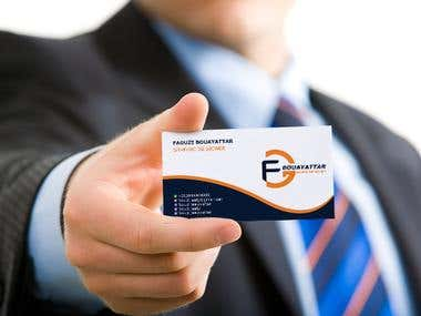 The design of the personal card