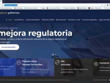 Sitio web Mejores Gobiernos