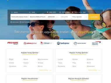 Travel & Flight Tickets Platform