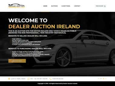 Laravel Auction Site