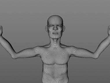Modelado de personaje 3D