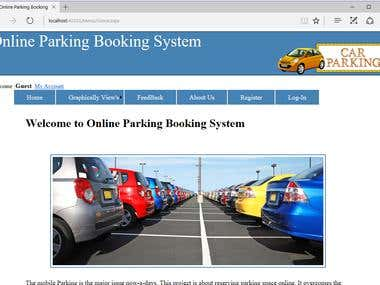 Online Parking Booking System