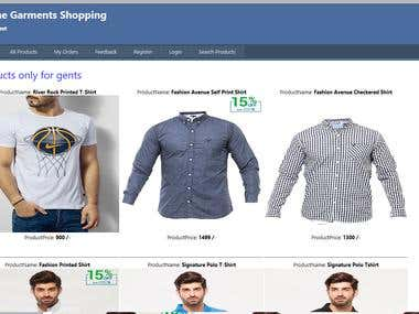 Online Garments Shopping