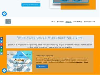 Diseño de mi sitio web en Wordpress