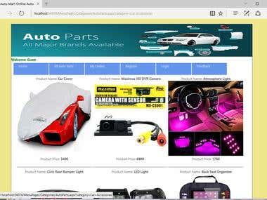 Auto Mart Online Auto Part Shop