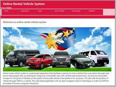 Car Rental Management System