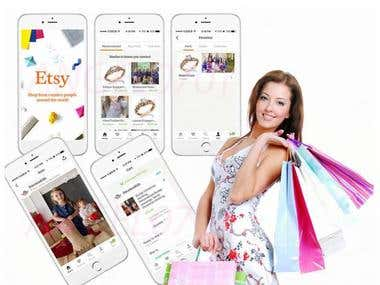 iOS Etsy eCommerce