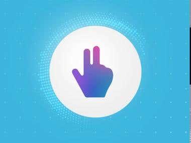App UI animation GIF