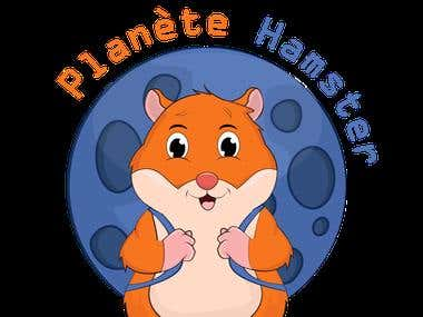 Logo design for Planete hamster