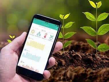 Plant App ( BLE based App)