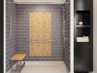 3D Bathroom Customization_X DESIGN