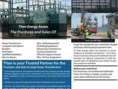 Power Equipment Brochure