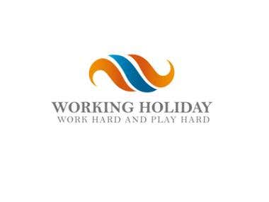 Working Holiday - Logo Design
