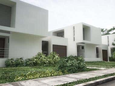 residencial complex in Miami