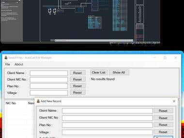AutoCAD File Manager