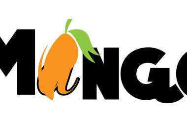 Sample of Mango Juice Logo