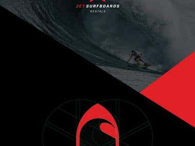 Jetsurfboards Visual Identity
