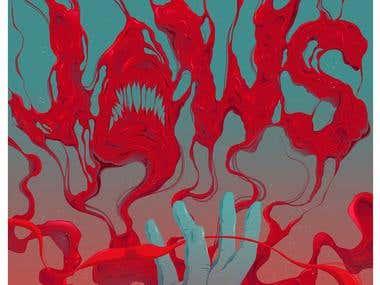 Jaws Poster Design