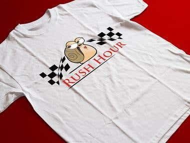 cartoon apply on t shirt
