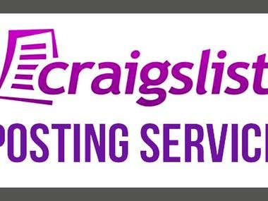 Classifieds Posting and Data Entry