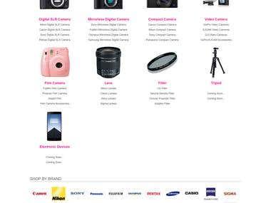 cameraparadise.com (OpenCart Project)