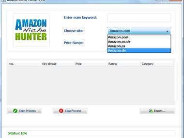 Amazon Niche Hunter