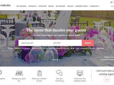 Matrimonial website design and development