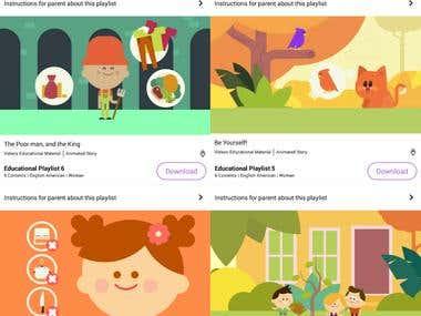 """Bedtime Stories for Kids """"KidStoriz"""" app"""