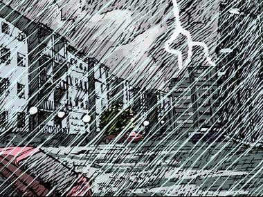 """Video-comic """"Los nuevos vecinos"""""""