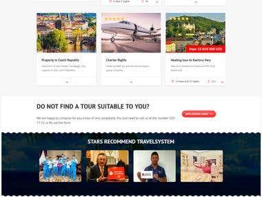 online travel website