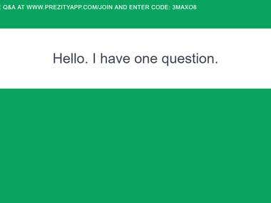 Laravel Realtime Question & Answer Application