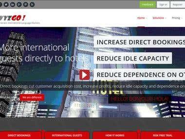 Tours, Travel & Digital Marketing Service (Yii, Java, MSSQL)