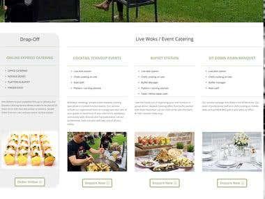 Custom Website design and custom cart development