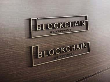 block chain logo design.