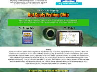 Fishing related business website
