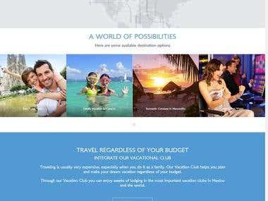 online Travel Website.