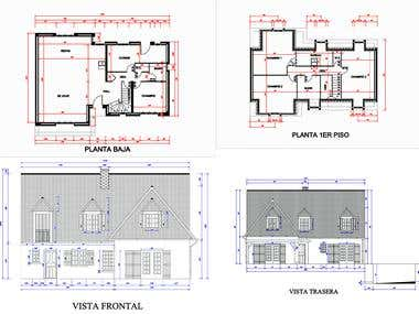 2D designs with AutoCAD