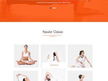 Website for yoga