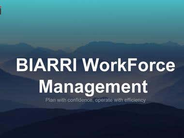 Biarri- Pitch Deck