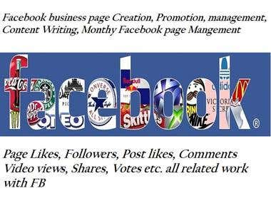 Facebook Business Page Create and Management