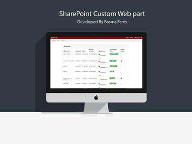 Sharepoint Custom Web Part