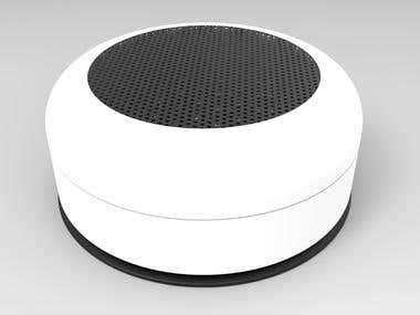 Waterproof speaker concept