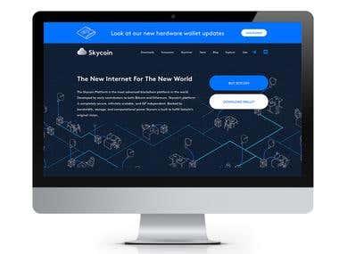 Skycoin (Golang, Angular 6)