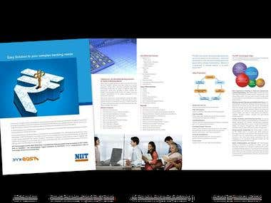 Print Product Brochure for NIIT Technologies