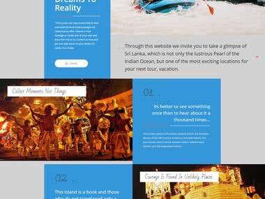 Travel Agency Website + Booking + Control Panel Development