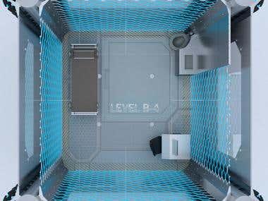 Futuristic Prison Design