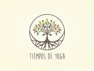 Diseño de Logotipo para Tiempos de yoga