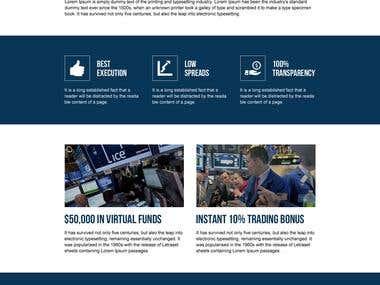 Forex Market Web Design